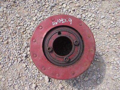 Farmall 350 M 400 450 Mv Tractor Ih Paper Belt Pulley 10 12x 9