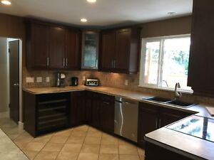 3 Bd Main Fully Furnished w Hot Tub close to Dt Kelowna