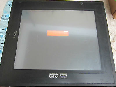 Ctc Parker Phm-17t-a1a3 Ph Monitor Operator Display Panel 24vdc 2a 48w Tested
