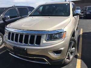 2015 Jeep Grand Cherokee Limited | SUNROOF | 8.4 TOUCHSCREEN | R