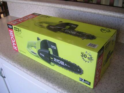 New Ryobi One+ 18V Cordless Chainsaw - Skin Onl Edgewater Joondalup Area Preview