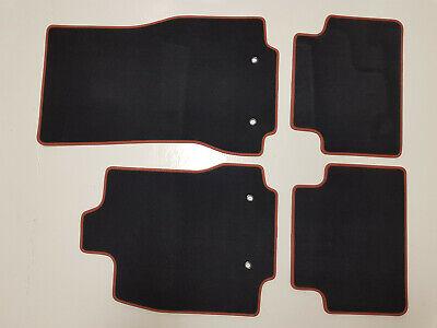 BRAUN NEU Original Lengenfelder DeLuxe Velours Fußmatten für Jaguar XF X260