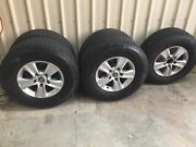 Landcruiser 200 series wheels and wrangler tires Marlow Lagoon Palmerston Area Preview