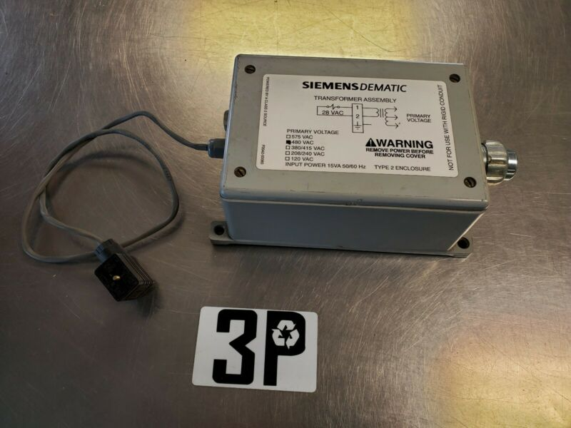 SIEMENS DEMATIC F0042-00050AC TRANSFORMER ASSEMBLY TYPE 2 480VAC