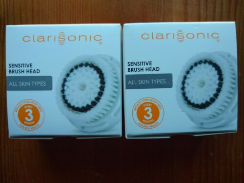 2 Pack Clarisonic Replacement Brush Head, Sensitive Skin, NE