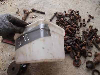 Farmall Super M Sm Lsm Ihc Tractor Ih Box Misc Bolts Nuts Parts Pieces Springs