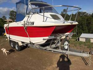 Sharkcat Twin 115Hp Johnson