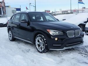 2015 BMW X1 xDrive28i|TECH-PKG|GPS|B.CAM|LEATHER|PANO-ROOF