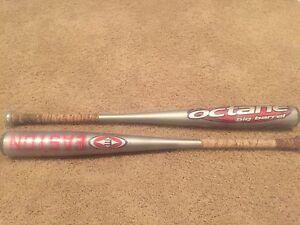 Easton Aluminum Baseball bats