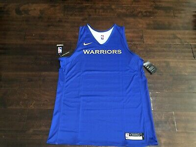 Nike NBA Reversible Golden State Warriors Practice Jersey XLT STEPHEN CURRY
