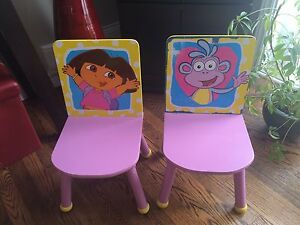 Dora and Boots chairs