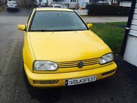 GOLF VR6 GTI DRIVER EDITION ORIGINAL