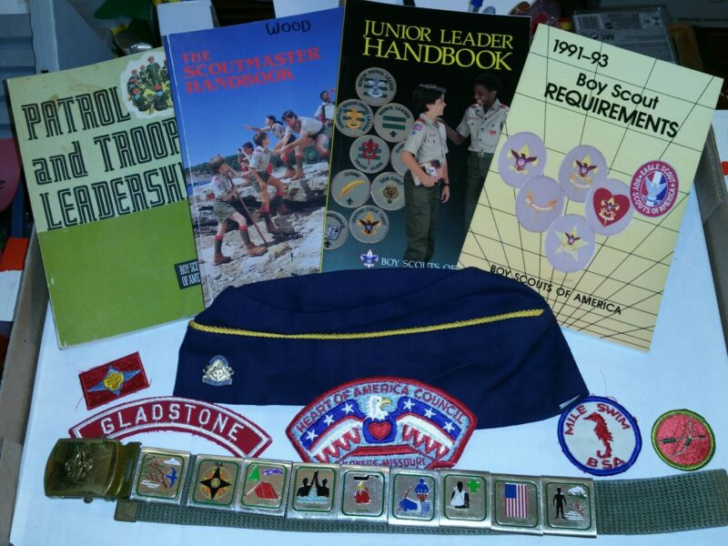 Lot of 21 Vintage Boy/Cub Scout Items!!!! Priced to Sell!!!!
