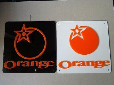 Orange Mountain Bikes. Orange MTB. X2 Cycling Signs DEAL, Black & White signs.