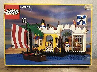 Vintage Lego Pirates Lagoon Lock-Up (6267) Vintage Legos Brand New Sealed