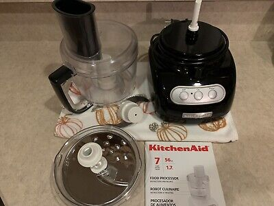 KitchenAid Black Food Processor - 7 Cups