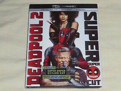 Deadpool 2 Super Duper $@%!#& Extended Cut 4K Ultra HD Blu-ray Digital 4-Disc