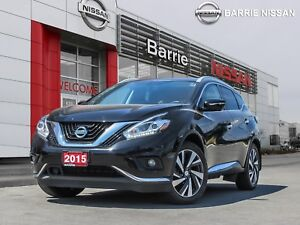 2015 Nissan Murano Platinum ONE OWNER, ALL THE FEATURES