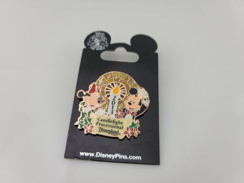 2013 Disney Disneyland Candlelight Processional Mickey Minnie Pin LE 2500