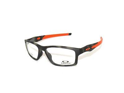 Oakley Crosslink MNP 8090-07 53 Matte Green Tortoise Eyeglasses clearance