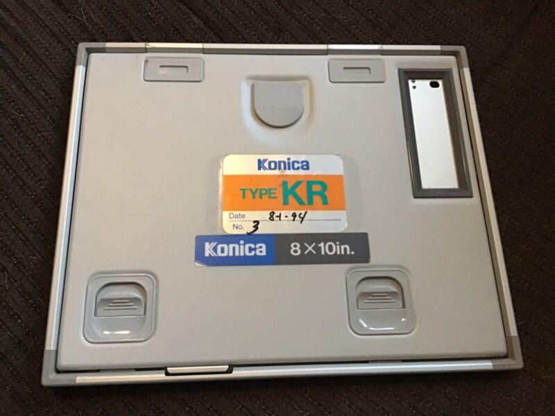 Konica Minolta Type KR Xray Imaging Cassette, 8 X 10 In