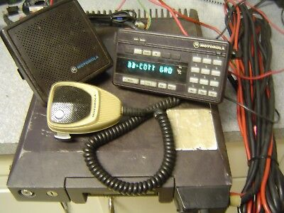 Motorola Syntor X9000 Uhf Radio 100w 450-470 Mhz Tested