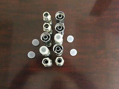 10 Pk Mpx-06-06 Hydraulic Hose Crimp Fittings 38 X 38 Male Pipe Swivel Hy