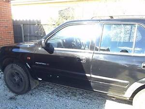 1999 Holden Frontera Wagon SWAP Longford Northern Midlands Preview