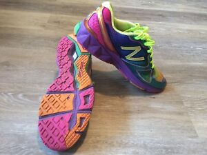 new product d448e 04e7a Rainbow Women s Shoes Size 11.5, New Balance Surprisingly Orange Green,  WR890RG