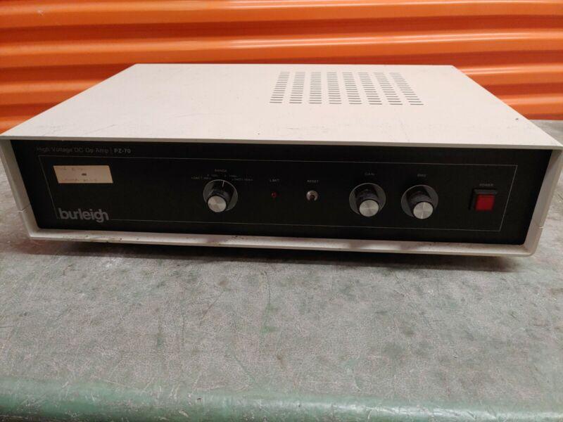 Burleigh High Voltage DC OP Amplifier PZ-70