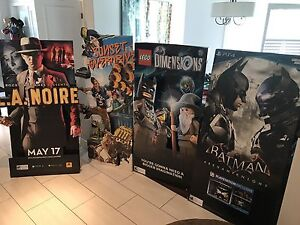 Video Game Promo Standees