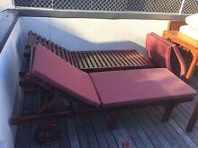 Hardwood patio furniture set St Kilda Port Phillip Preview
