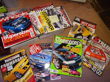 Various Automotive Magazines $1.00 each St Clair Penrith Area Preview