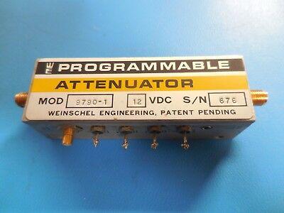 Weinschel Engineering Programmable Attenuator 12vdc Model 9790-1