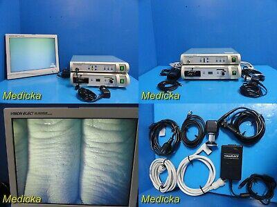 Smith Nephew Endoscopy Sys W Ed-3 Camera 300xl Light Source Monitor 21344