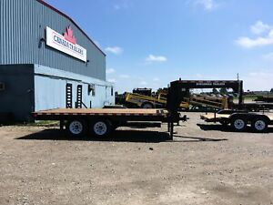 2020 Canada Trailers Straight Deck Gooseneck Deckover 14,000 lbs