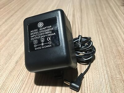 AC/Dc Red Eléctrica Adaptador/Cargador/Fuente 230v 50hz - 24v./250MA