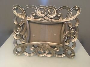 Silver 4x6 picture frame