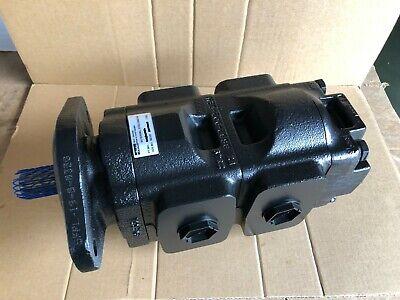 Genuine New Parkerjcb Twin Hydraulic Pump 20925581 37 33ccrev. Made In Eu
