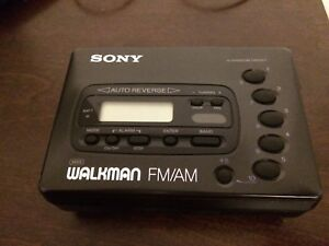 Sony Walkman FM/AM cassette WM X41