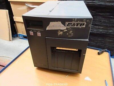 "SATO CL408E Parallel Thermo Label Drucker REWINDER 203dpi 4.1"" 104mm NO TEST"