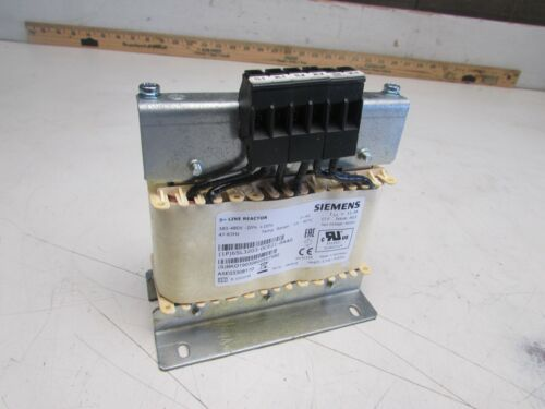 SIEMENS 6SL3203-0CE21-0AA0 3PH LINE REACTOR 380-480V 11.3A NEW NOT IN BOX M/O!!
