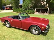 Triumph 1972 TR6 Adelaide CBD Adelaide City Preview