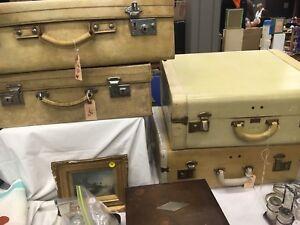 Vintage/ antique suitcases!