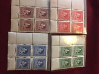 Rare lot of king George coronation stamps