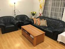 Very comfy leather lounge West Ryde Ryde Area Preview