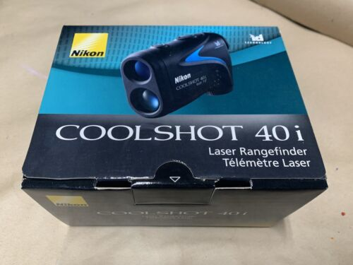 Nikon COOLSHOT 40i - 6x 21 mm - Rain Proof - Diopter Adjustm