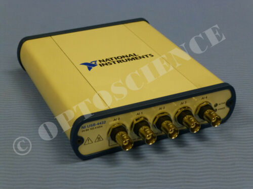 National Instruments NI USB-4432 Sound and Vibration Device