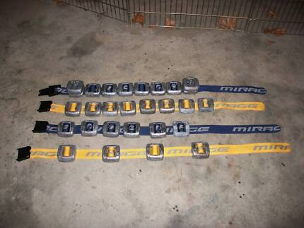 Dive weight belts and weights