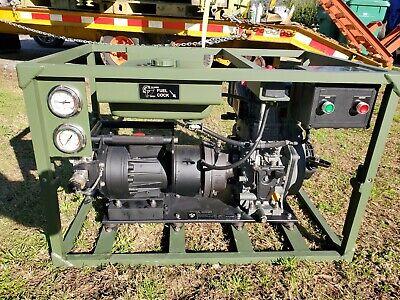 High-pressure Diesel Water Pump Yanmar L70v 6.4 Hp Max 2200 Psi 8 Gpm